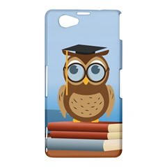 Read Owl Book Owl Glasses Read Sony Xperia Z1 Compact