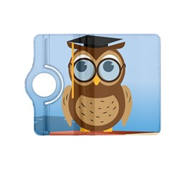 Read Owl Book Owl Glasses Read Kindle Fire HD (2013) Flip 360 Case