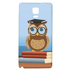 Read Owl Book Owl Glasses Read Galaxy Note 4 Back Case