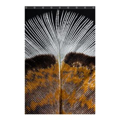 Spring Bird Feather Turkey Feather Shower Curtain 48  x 72  (Small)