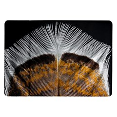 Spring Bird Feather Turkey Feather Samsung Galaxy Tab 10.1  P7500 Flip Case