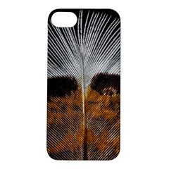 Spring Bird Feather Turkey Feather Apple iPhone 5S/ SE Hardshell Case