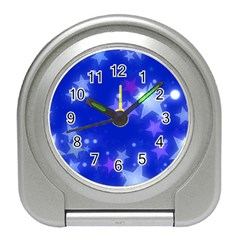 Star Bokeh Background Scrapbook Travel Alarm Clocks