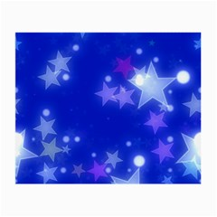 Star Bokeh Background Scrapbook Small Glasses Cloth