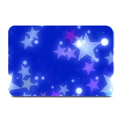Star Bokeh Background Scrapbook Plate Mats