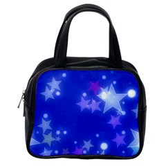 Star Bokeh Background Scrapbook Classic Handbags (One Side)