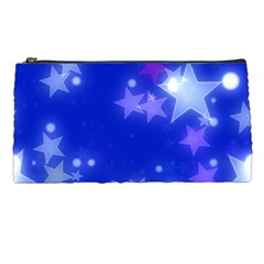 Star Bokeh Background Scrapbook Pencil Cases