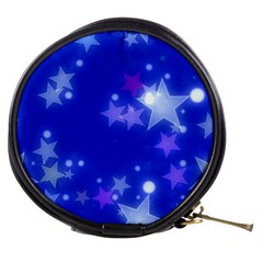 Star Bokeh Background Scrapbook Mini Makeup Bags