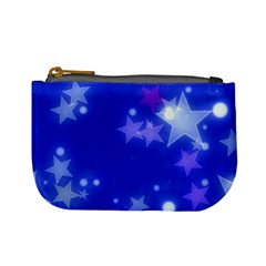 Star Bokeh Background Scrapbook Mini Coin Purses