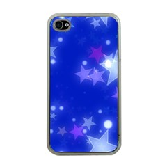 Star Bokeh Background Scrapbook Apple iPhone 4 Case (Clear)