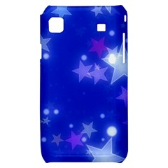 Star Bokeh Background Scrapbook Samsung Galaxy S i9000 Hardshell Case