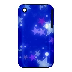 Star Bokeh Background Scrapbook Apple iPhone 3G/3GS Hardshell Case (PC+Silicone)