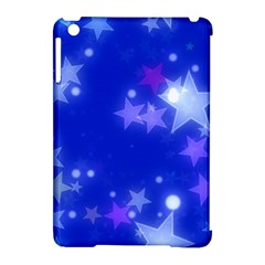 Star Bokeh Background Scrapbook Apple iPad Mini Hardshell Case (Compatible with Smart Cover)
