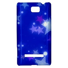 Star Bokeh Background Scrapbook HTC 8S Hardshell Case