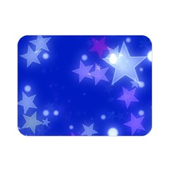 Star Bokeh Background Scrapbook Double Sided Flano Blanket (Mini)