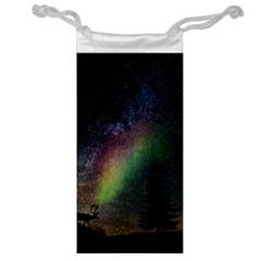 Starry Sky Galaxy Star Milky Way Jewelry Bags