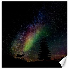 Starry Sky Galaxy Star Milky Way Canvas 16  x 16