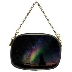Starry Sky Galaxy Star Milky Way Chain Purses (Two Sides)