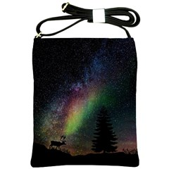 Starry Sky Galaxy Star Milky Way Shoulder Sling Bags