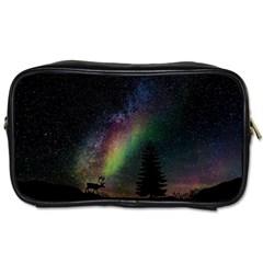 Starry Sky Galaxy Star Milky Way Toiletries Bags