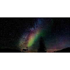 Starry Sky Galaxy Star Milky Way YOU ARE INVITED 3D Greeting Card (8x4)