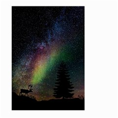 Starry Sky Galaxy Star Milky Way Large Garden Flag (Two Sides)