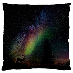 Starry Sky Galaxy Star Milky Way Large Cushion Case (Two Sides)
