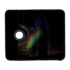 Starry Sky Galaxy Star Milky Way Samsung Galaxy S  III Flip 360 Case