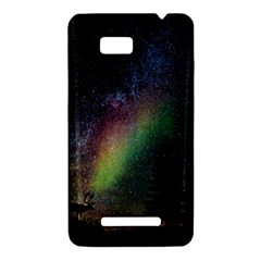 Starry Sky Galaxy Star Milky Way HTC One SU T528W Hardshell Case