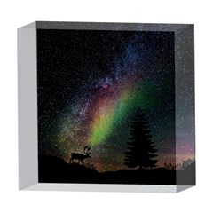 Starry Sky Galaxy Star Milky Way 5  x 5  Acrylic Photo Blocks