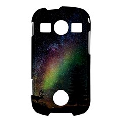 Starry Sky Galaxy Star Milky Way Samsung Galaxy S7710 Xcover 2 Hardshell Case