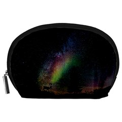 Starry Sky Galaxy Star Milky Way Accessory Pouches (Large)