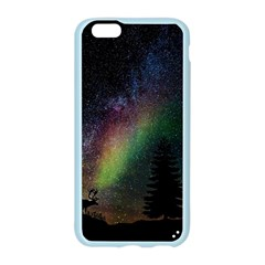Starry Sky Galaxy Star Milky Way Apple Seamless iPhone 6/6S Case (Color)