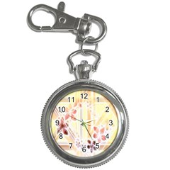 Swirl Flower Curlicue Greeting Card Key Chain Watches