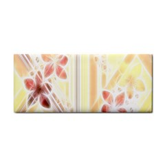 Swirl Flower Curlicue Greeting Card Hand Towel