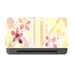 Swirl Flower Curlicue Greeting Card Memory Card Reader with CF