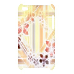 Swirl Flower Curlicue Greeting Card Apple iPod Touch 4