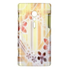 Swirl Flower Curlicue Greeting Card Sony Xperia ion