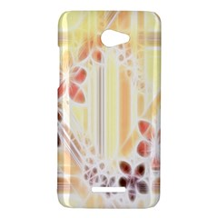 Swirl Flower Curlicue Greeting Card HTC Butterfly X920E Hardshell Case