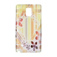 Swirl Flower Curlicue Greeting Card Samsung Galaxy Note 4 Hardshell Case
