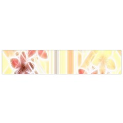 Swirl Flower Curlicue Greeting Card Flano Scarf (Small)