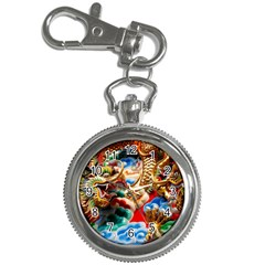 Thailand Bangkok Temple Roof Asia Key Chain Watches