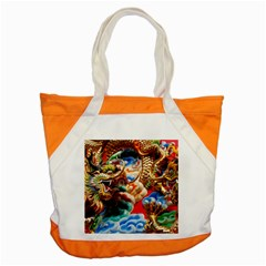 Thailand Bangkok Temple Roof Asia Accent Tote Bag