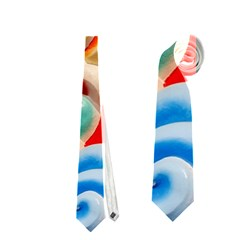 Thailand Bangkok Temple Roof Asia Neckties (Two Side)