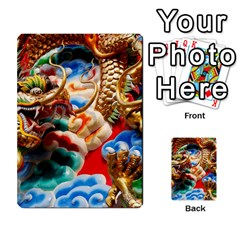 Thailand Bangkok Temple Roof Asia Multi-purpose Cards (Rectangle)