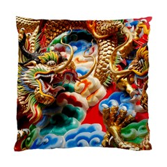 Thailand Bangkok Temple Roof Asia Standard Cushion Case (One Side)
