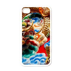 Thailand Bangkok Temple Roof Asia Apple iPhone 4 Case (White)