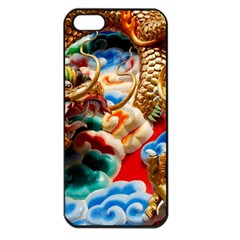 Thailand Bangkok Temple Roof Asia Apple iPhone 5 Seamless Case (Black)
