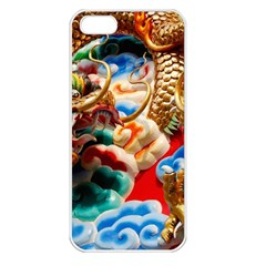 Thailand Bangkok Temple Roof Asia Apple iPhone 5 Seamless Case (White)