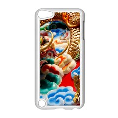 Thailand Bangkok Temple Roof Asia Apple iPod Touch 5 Case (White)